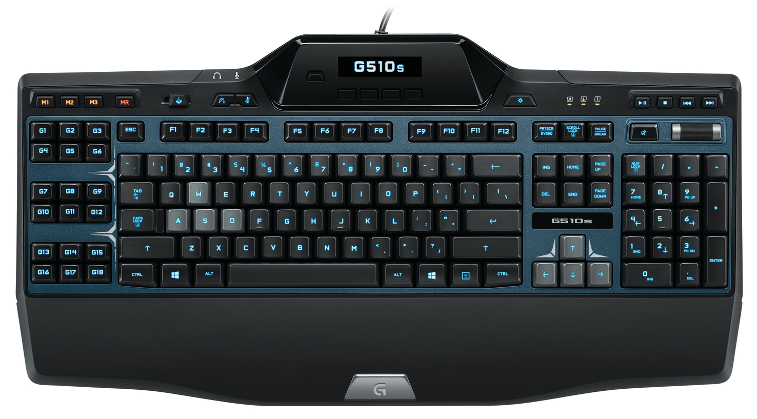 Clavier gaming filaire Logitech G510s